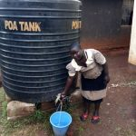 The Water Project: Womulalu Special School -  Plastic Tank