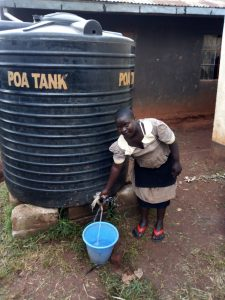 The Water Project:  Plastic Tank