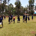 The Water Project: Demesi Primary School -  Students With Their Water Containers