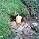The Water Project: Bung'onye Community, Shilangu Spring -  Current Water Source