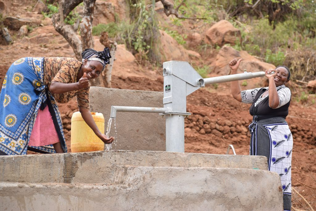 The Water Project : 7-kenya18221-water-flowing
