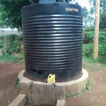 The Water Project: Mukoyani Primary School -  Broken Plastic Tank