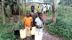 The Water Project:  Waiting To Fetch Water