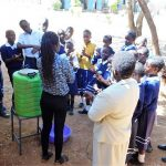 The Water Project: Shikusa Primary School -  Handwashing Training