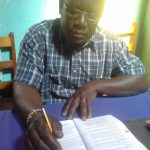 The Water Project: Kima Primary School -  Headteacher Lukongo