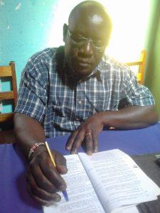 The Water Project:  Headteacher Lukongo