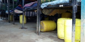 The Water Project:  Water Containers In Dorm