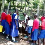 The Water Project: Goibei Primary School -  Fetching Water From The Community