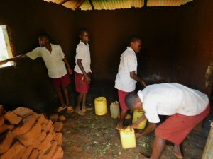 The Water Project:  Delivering Water To School Kitchen