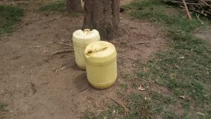The Water Project:  Containers Used For Fetching Water