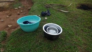The Water Project:  Spring Water Being Used For Laundry