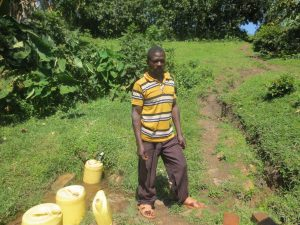 The Water Project:  Wilson Shilangu