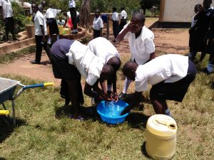 The Water Project:  Freshening Up At The Well