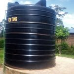 The Water Project: Ebulonga Mixed Secondary School -  The Plastic Tank That Often Runs Dry