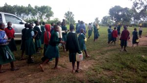 The Water Project:  Returning To School From Lunch