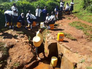 The Water Project:  Waiting For Community Member To Finish