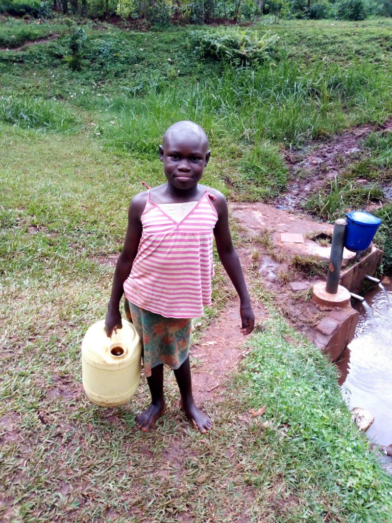 The Water Project : 9-kenya19072-fetching-water