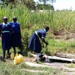 The Water Project: Mukama Primary School -  The Open Well