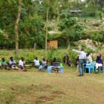 The Water Project: Bukhakunga Community, Khayati Spring -  A Large Group