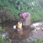 The Water Project: Kambiri Community, Sachita Spring -  Dorcas Ayuma