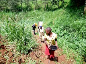 The Water Project:  Carrying Water Up The Hill