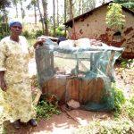 The Water Project: Mushina Community, Shikuku Spring -  Dish Drying Rack