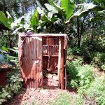 The Water Project: Mushina Community, Shikuku Spring -  Latrine