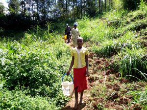 The Water Project:  Walking To Fetch Water