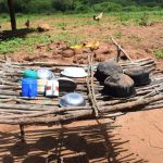 The Water Project: Maluvyu Community F -  Dish Drying Rack