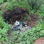 The Water Project: Maluvyu Community F -  Garbage Pit