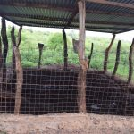The Water Project: Maluvyu Community F -  Inside Animal Pen