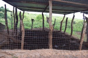 The Water Project:  Inside Animal Pen