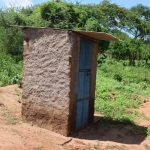 The Water Project: Maluvyu Community F -  Latrine