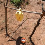 The Water Project: Maluvyu Community F -  Tippy Tap Handwashing Station