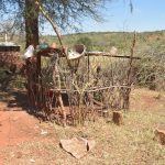 The Water Project: Mukuku Community -  Dish Drying Rack And Chicken Coop