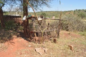 The Water Project:  Dish Drying Rack And Chicken Coop