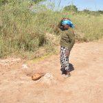 The Water Project: Mukuku Community -  Hoisting Water