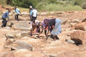 The Water Project:  Preparing For Sand Dam
