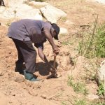 The Water Project: Kaukuswi Community -  Digging