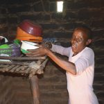 The Water Project: Kaukuswi Community -  Dishrack