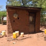 The Water Project: Kaukuswi Community -  Kitchen Building
