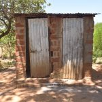The Water Project: Kaukuswi Community -  Latrine