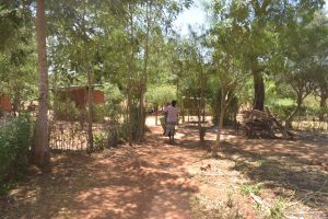 The Water Project:  Walking In Compound