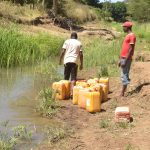 The Water Project: Kaukuswi Community -  Water Containers