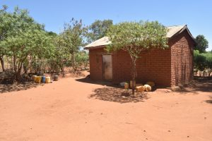 The Water Project:  Water Storage Containers In The Compound