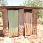 The Water Project: Kaukuswi Community A -  Latrines