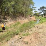 The Water Project: Kaukuswi Community A -  Water Source