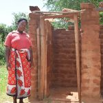 The Water Project: Kangalu Community A -  Latrine