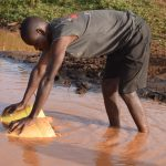 The Water Project: Kangalu Community A -  Unsafe Water