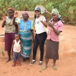The Water Project: Katuluni Community -  Rachel Fundi Mary Nzoka Field Officer Lilian Kendi And Elizabeth Mueni